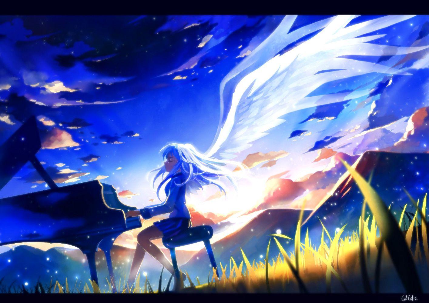 Pie Hunter Upload Angel Beats Anime Angel Beats Beats Wallpaper Angel beats anime wallpaper