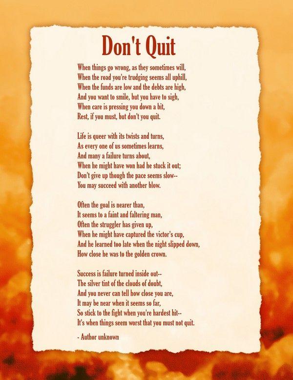 On positive thinking poem Positive thinking