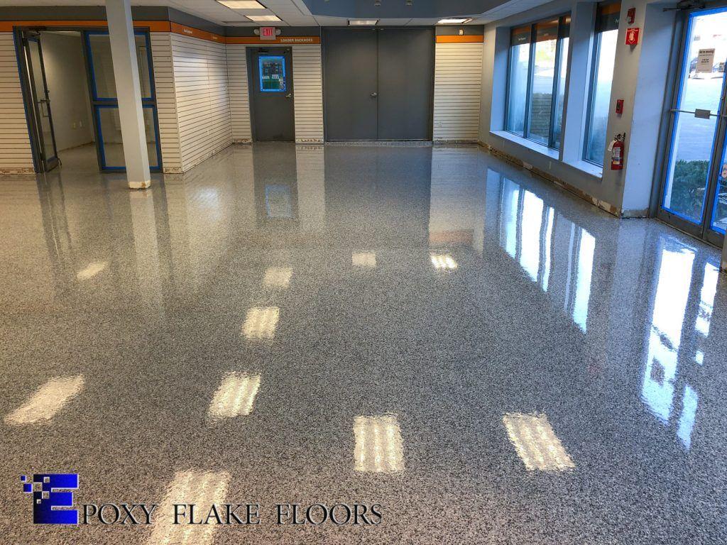 Epoxy Flake Floors Gallery Epoxy Flake Floors Flooring Concrete Decor Floors And More