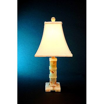 Chartreuse Marble 22 Table Lamp Lamp Table Lamp Square Shades