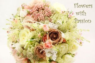 Flowers With Passion: hand tied