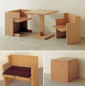 Compact Furniture E Saving Tiny House Home