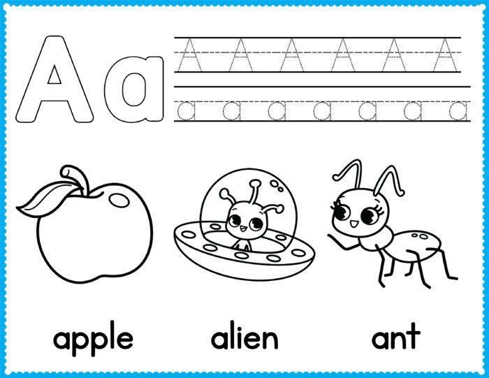 Free Alphabet Coloring Pages Preschool Printables Slap Dash Mom Preschool Coloring Pages Alphabet Coloring Pages Kindergarten Coloring Pages