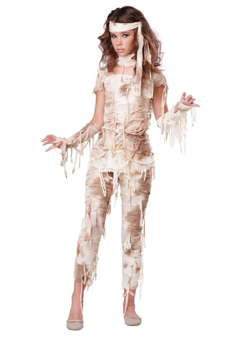 scary halloween costume ideas teen mummy costume | halloween costume