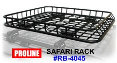 Proline Safari Roof Basket Carrier Racks 129 00 Roof Basket Jeep Zj Car Roof Racks