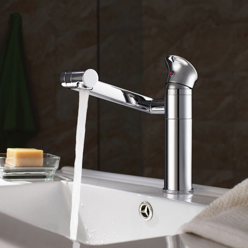 High Quality Solid Brass Single Handle Luxury Bathroom Faucet,good Quality  And Modern Sink Mixer