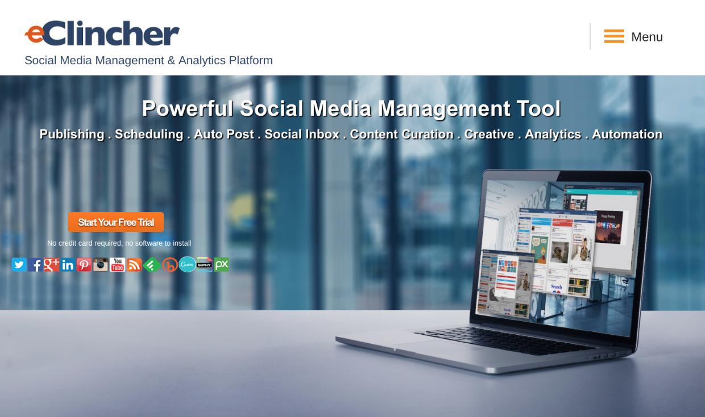 Best Social Media Management Platform Eclincher Social Media Management Tools Social Media Manager Management Tool