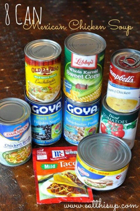 8 Can Chicken Tortilla Soup Recipe