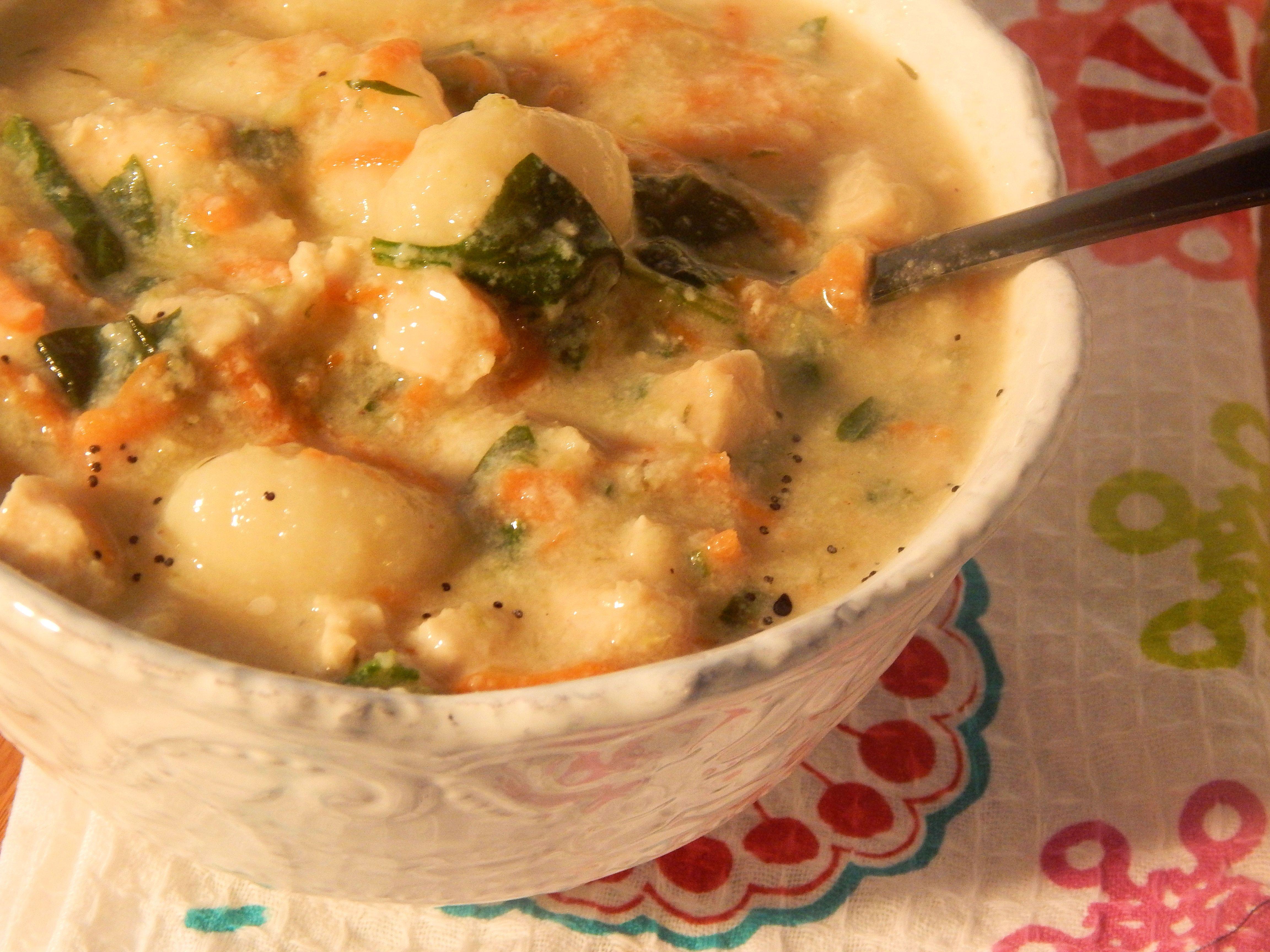 Chicken Gnocchi Soup Recipe Chicken gnocchi soup