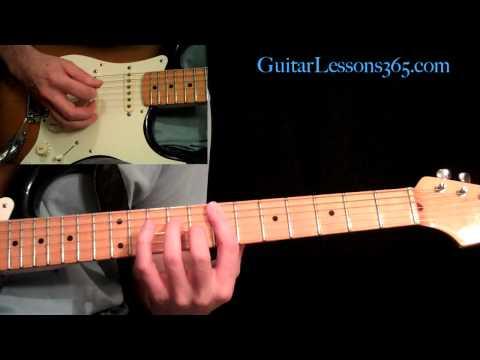 (4) Panama Guitar Lesson Pt.1 Van Halen Intro