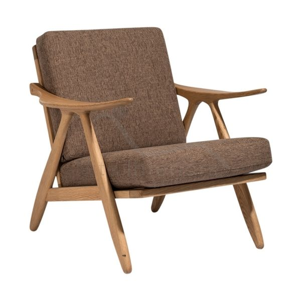 Vita InteriorsLounge Chairs Hans J Wegner Style GE 270 Lounge Chair