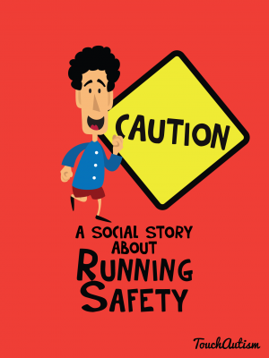 App With a Social Story About Not Running Away From Adults