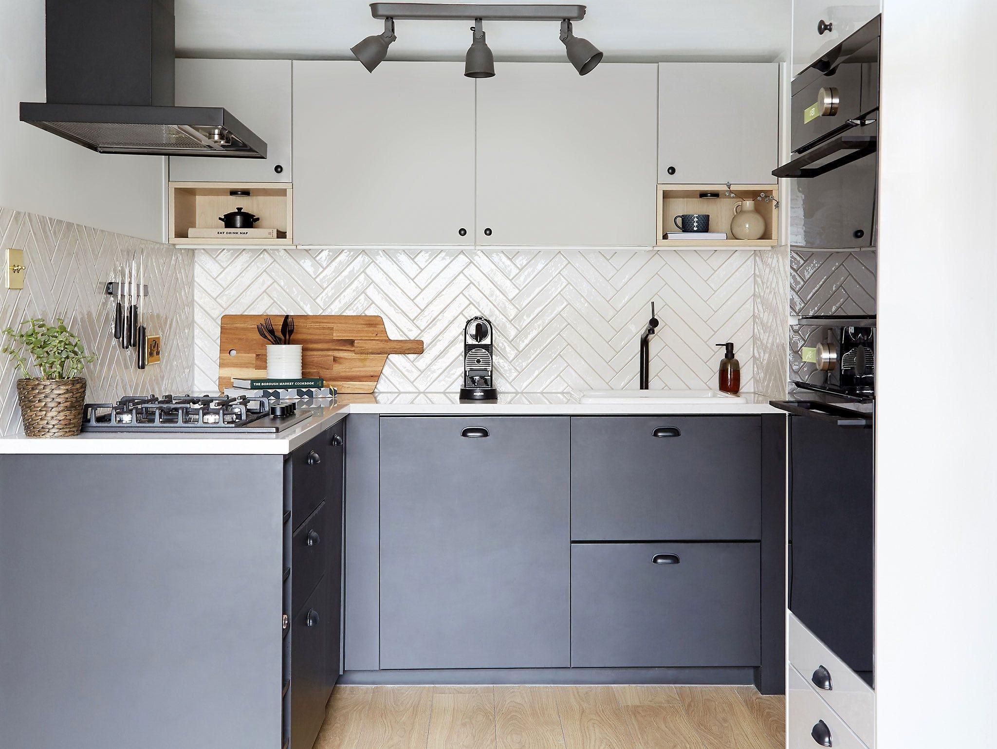 Alternative To A Monochrome Kitchen Ikea Kitchen Ikea Kitchen Inspiration Kitchen Plans