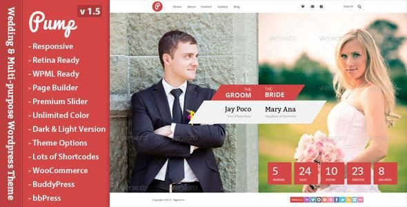 Best Of New WordPress Wedding Themes | WPLove.co - WordPress Themes ...