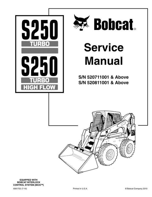 Bobcat S250 Turbo, S250 Turbo High Flow Skid-Steer Loader