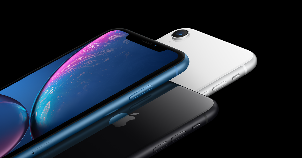 Iphone Xr Has An All Screen Design The New Liquid Retina The Most Advanced Lcd In The Industry Truedepth Camera Face Id And The A12 Iphone Phone Apple Uk