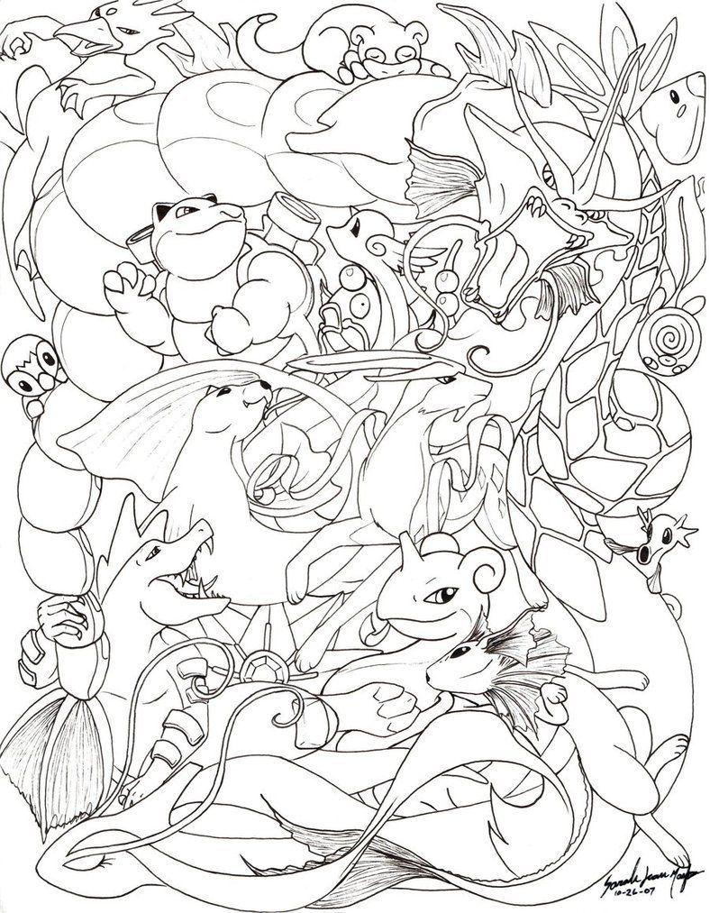 gillar du pokémon? här kommer 5 målarbilder för både barn