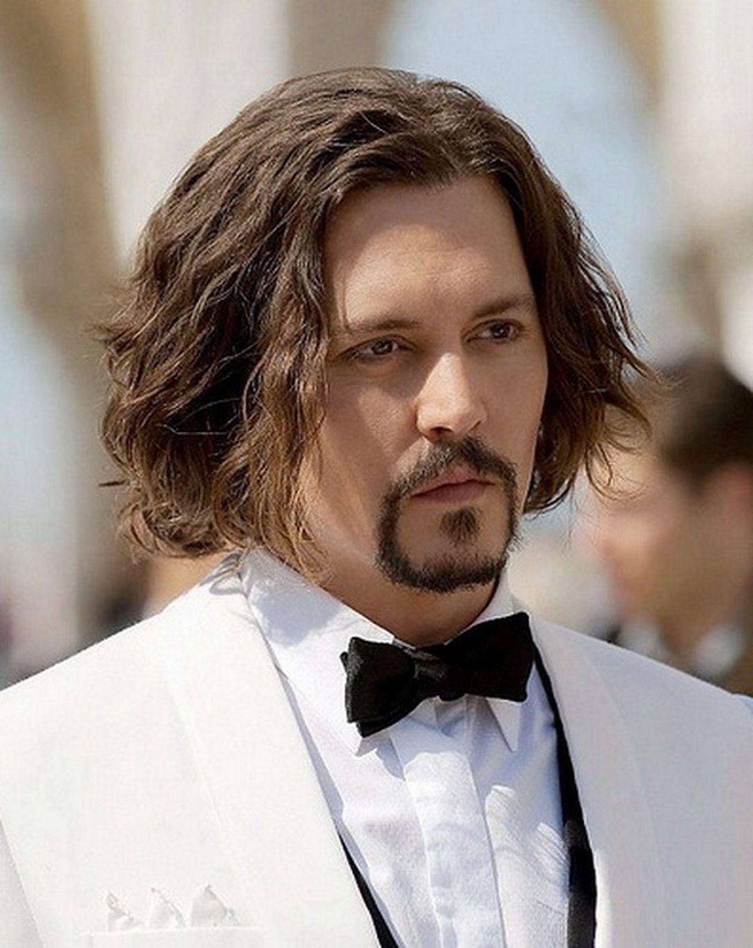Medium Long Hairstyles Men Celebrity Long Hairstyles For Men