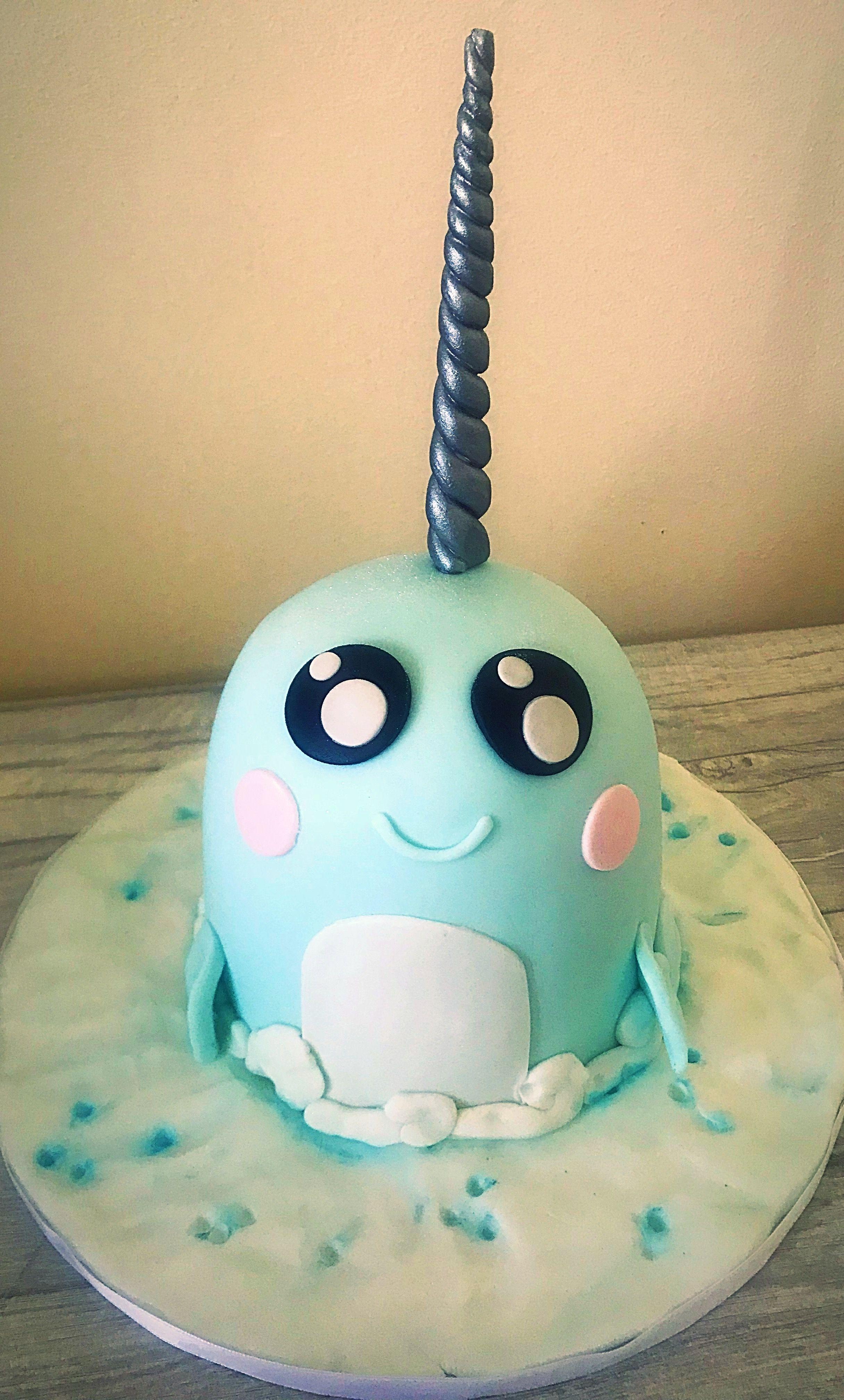 Narwhal Cake Narwhal Cake In 2019 Pinterest Cake Birthday
