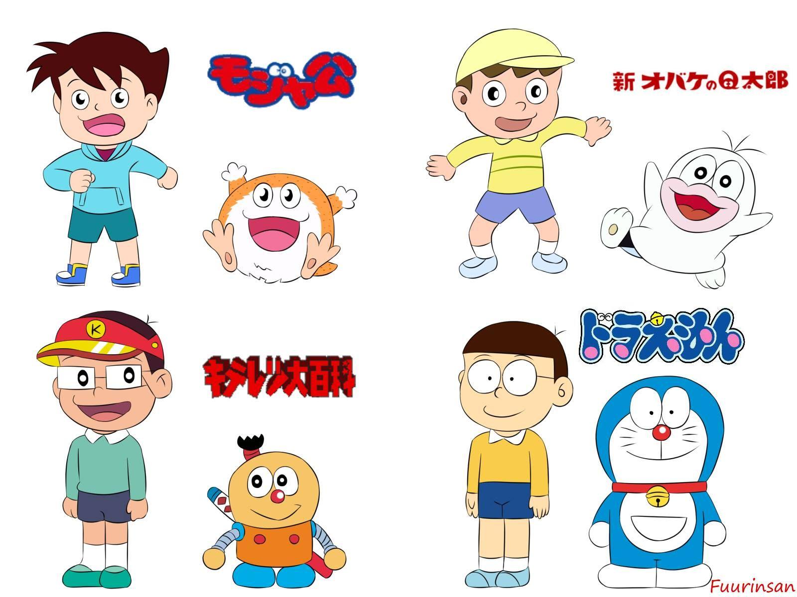 295. Old Anime 4 Amano Sorao & Mojara Ouhara Shouta & Q