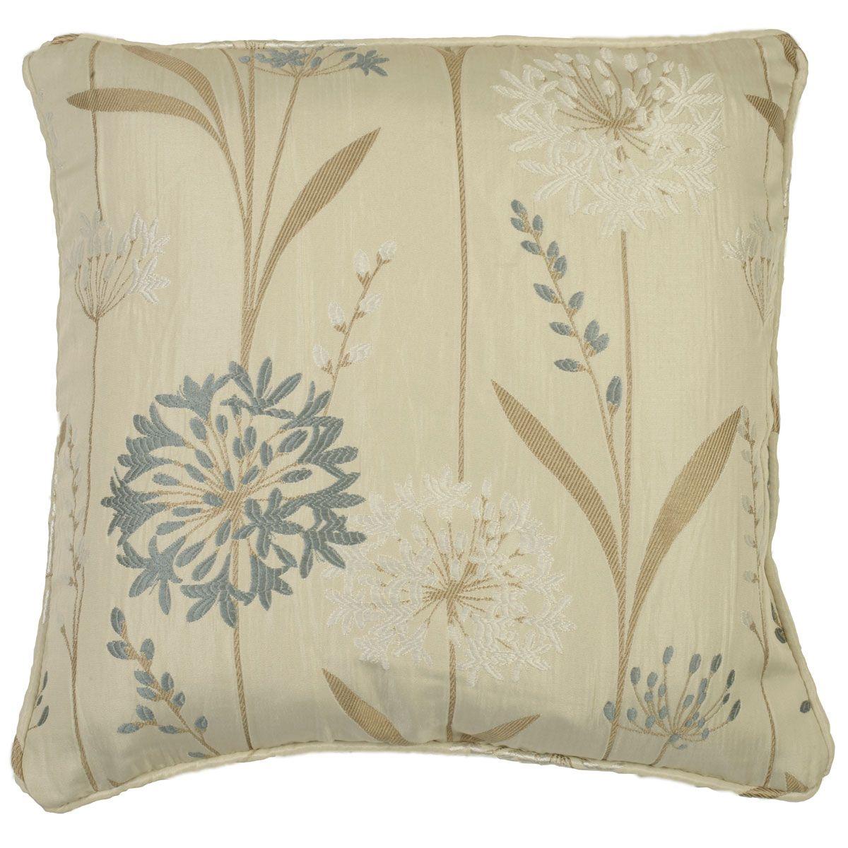 Santorini Filled Cushion - Cornflower