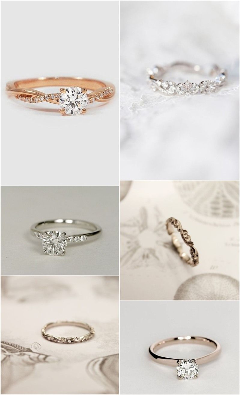 20 Simple Wedding Idea Inspirations Wedding Rings Simple