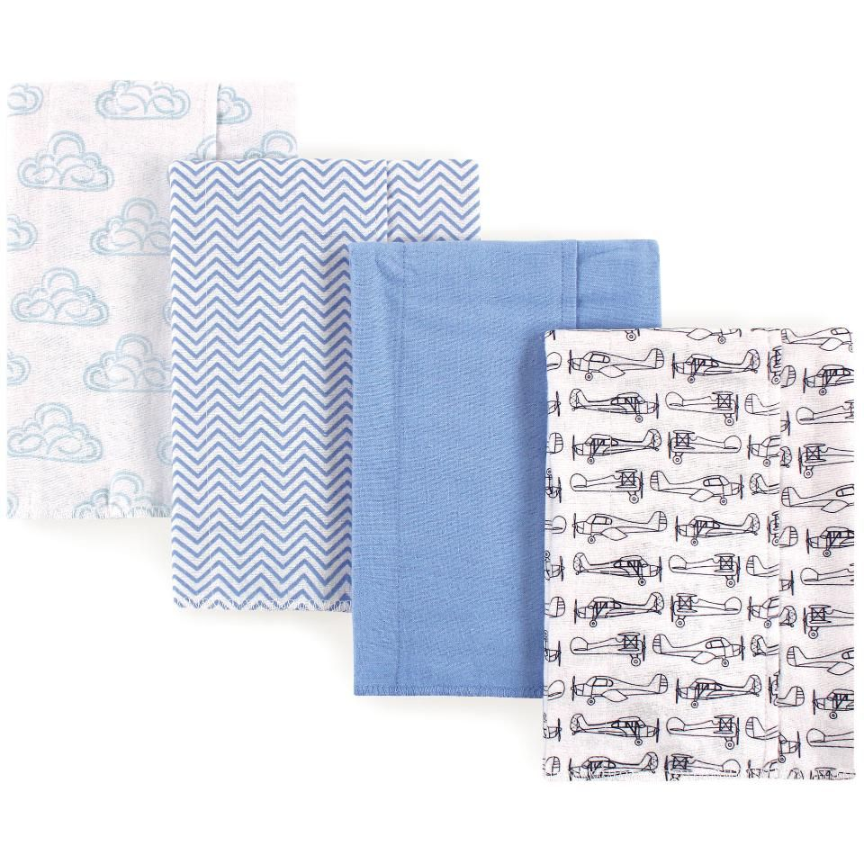 Pin By Babylist Eng On Prod Baby Flannel Burp Cloths