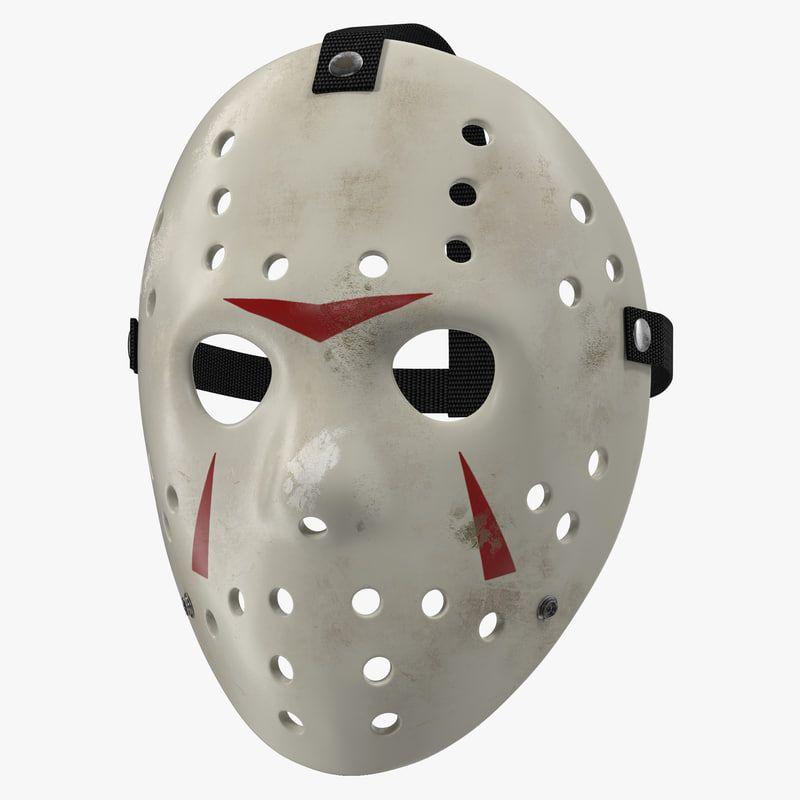 Hockey Mask 5 C4d Hockey Mask Hockey Tattoo Hockey Outfits