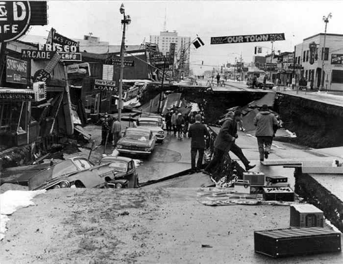 The Great Alaskan earthquake, 1964