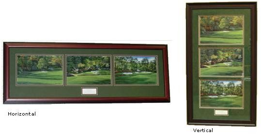 Amen Corner Augusta National framed golf course art $300 | Augusta ...