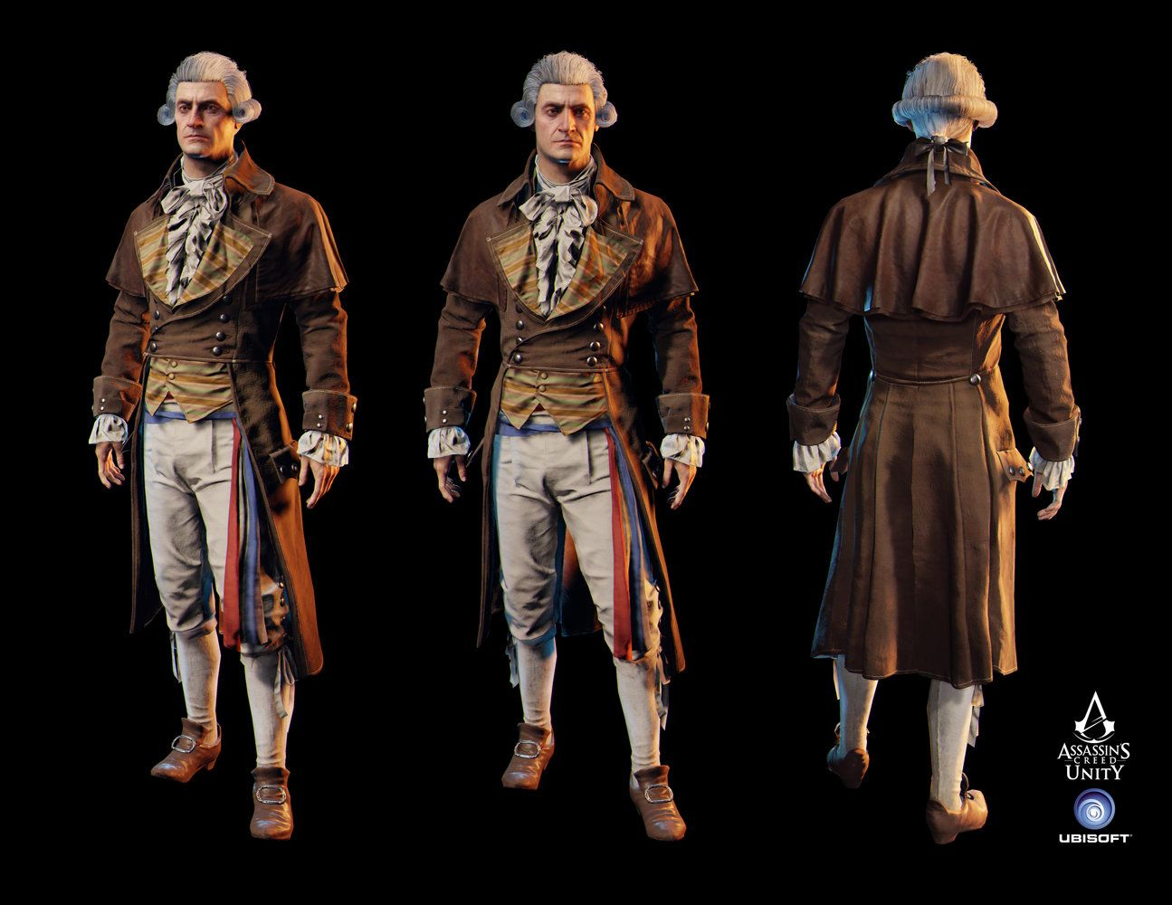 ArtStation - Assassin's Creed Unity - Robespierre, charles ...