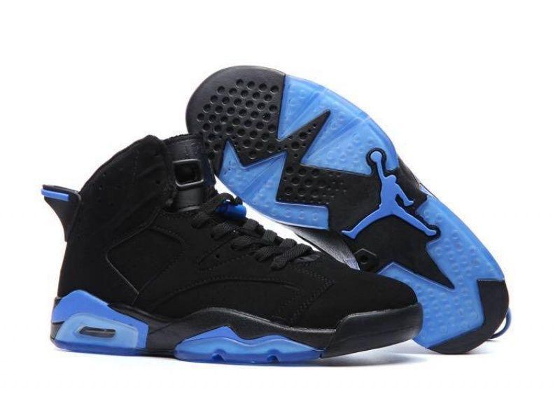 Air Jordan 6 Black Blue Basketball Shoes For Air Jordans Blue Basketball Shoes Nike Air Jordan 6