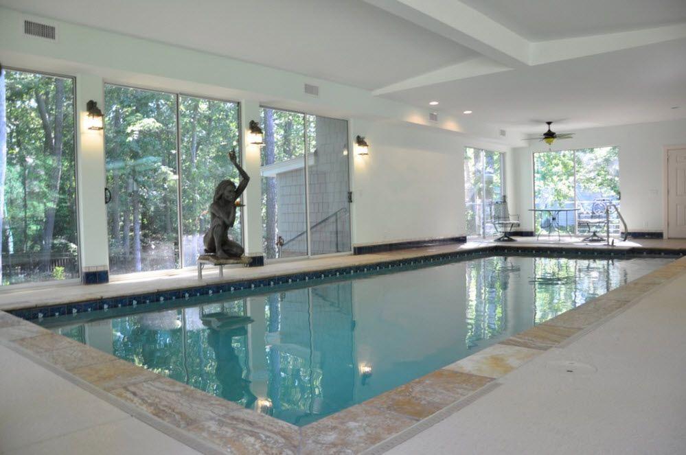 indoor swimming pool in interesting modern indoor pools ...