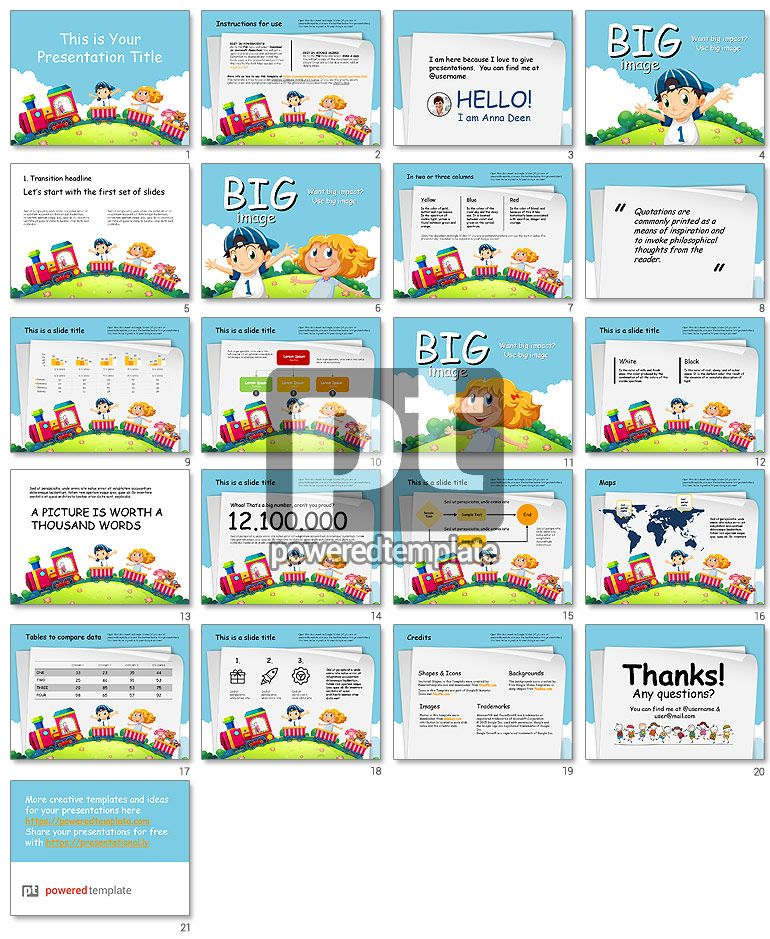 toy train free google slides theme template poweredtemplatecom template vorlage
