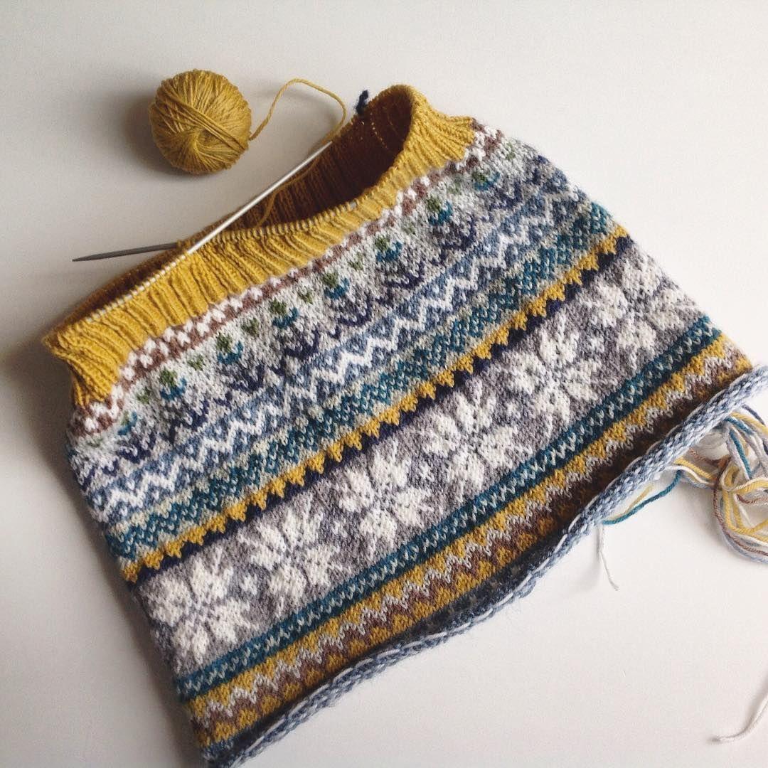 Farbkombi | Fairisle | Pinterest | Fair isles, Fair isle knitting ...