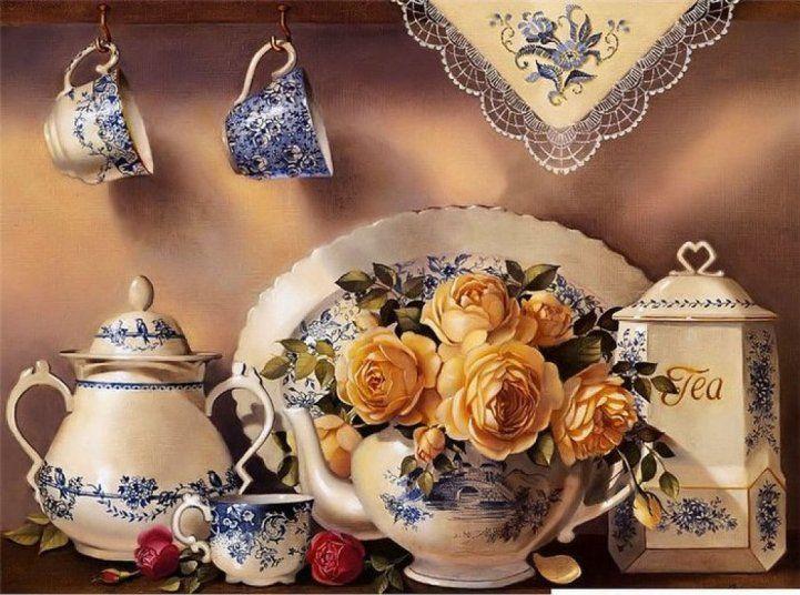 Laminas para decoupage cocina buscar con google - Laminas decorativas vintage ...