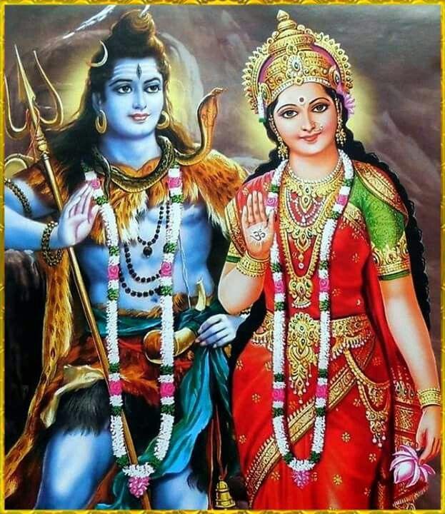 ป กพ นโดย Anjali Punetha ใน Shiva Parvati พระศ วะ ศ ลปะ