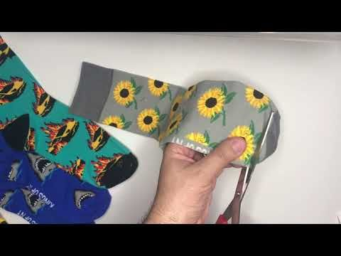 How To Make A Sock Face Mask No Sew By KINGS OF NY