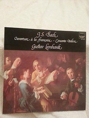 Bach. Ouverture a la française. Gustav Leonhardt. 1.