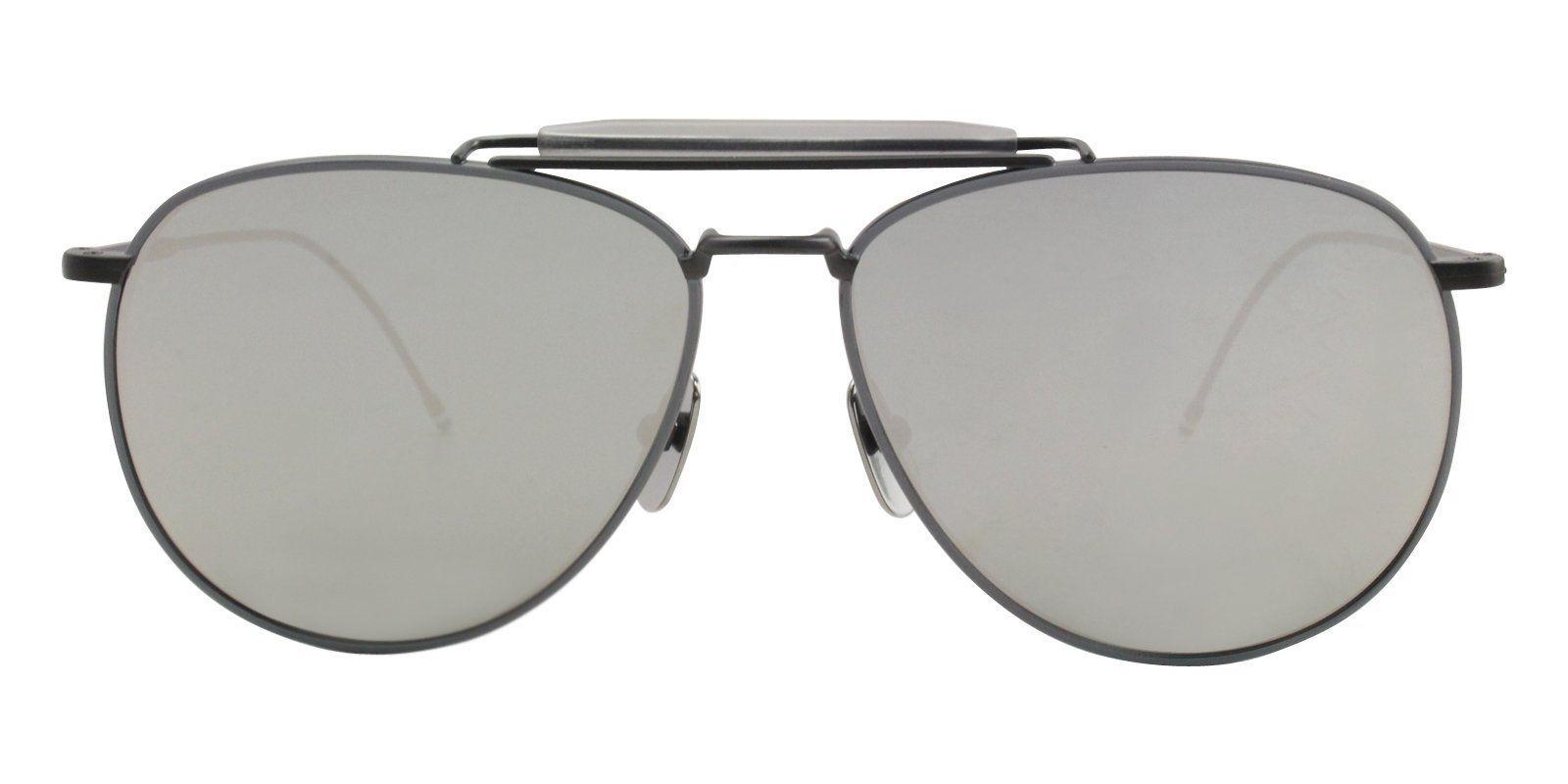 790d8336e8e Thom Browne - TB-015 LTD Black Iron - Grey - Dark Grey - Silver Mirror - AR