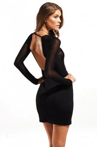 Black Swan Long Sleeve Dress