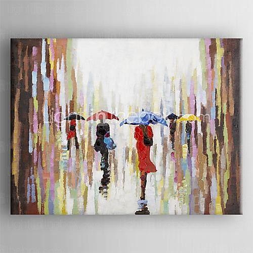 Handgemalte Abstrakt Ein Panel Leinwand Hang Ölgemälde For Haus Dekoration