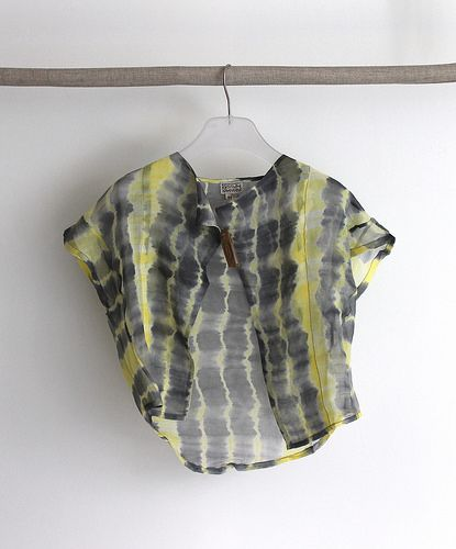 La Boutique Extraordinaire   Raga Designs - Top coton et soie - 98 €