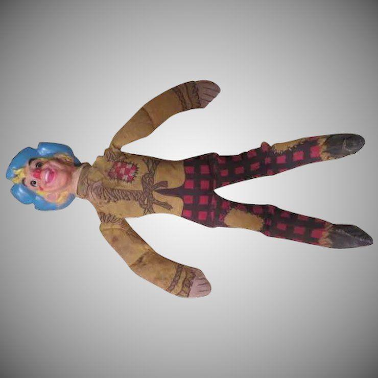 Ralston Purina Wizard Of Oz Scarecrow Doll
