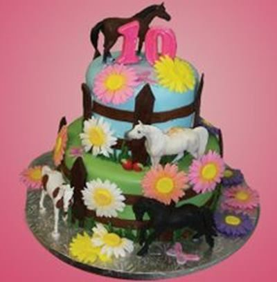 Horse Birthday Cake ideas Party ideas Pinterest Horse birthday