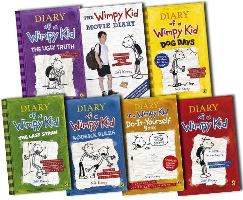 Diary of a wimpy kid collection 7 books set pack by jeff kinney by diary of a wimpy kid collection 7 books set pack by jeff kinney by jeff kinney solutioingenieria Choice Image