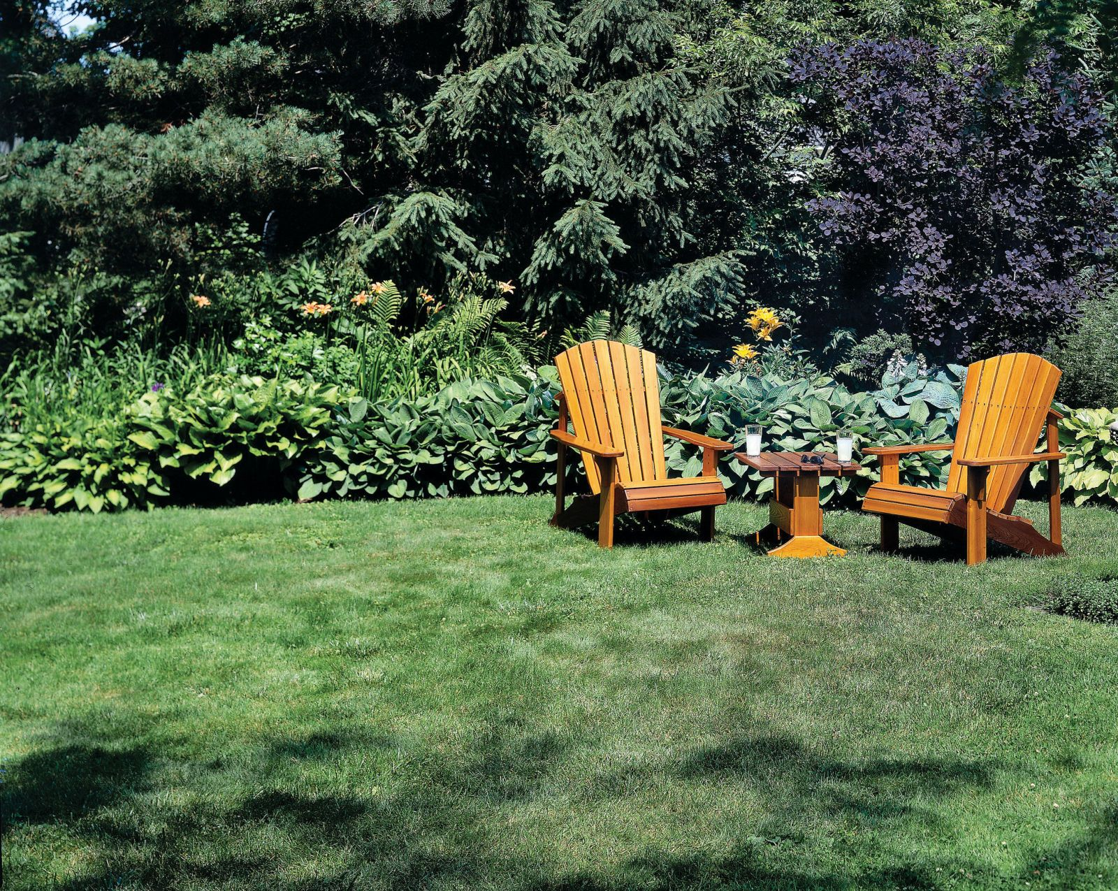 Easy Plans For Adirondack Chairs This Spring / Summer | Summer ...