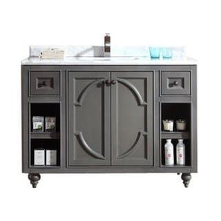 Odyssey Collection 48 Inch Vanity With Marble Countertop | Overstock.com  Shopping   The Best Deals On Bathroom Vanities | Bathroom | Pinterest |  Countertop, ...