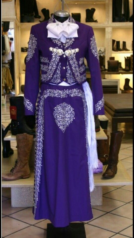 Purple Mariachu Dress | Abigail | Pinterest