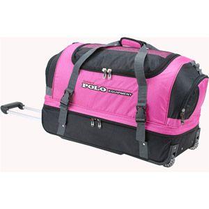 Rockland Luggage 36 Drop Bottom Rolling Duffle Bag Pink Rolling Duffle Bag Rockland Luggage Bags